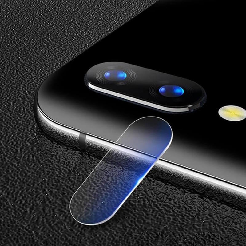 Afbeelding van 0.3mm 2.5D transparante achterkant Camera Lens Protector getemperd glas Film voor Huawei genieten van 9 Plus