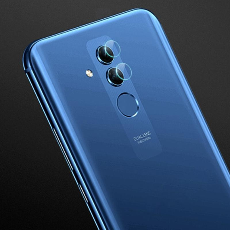 Afbeelding van 0.3mm 2.5D transparante achterkant Camera Lens Protector getemperd glas Film voor Huawei Mate 20 Lite