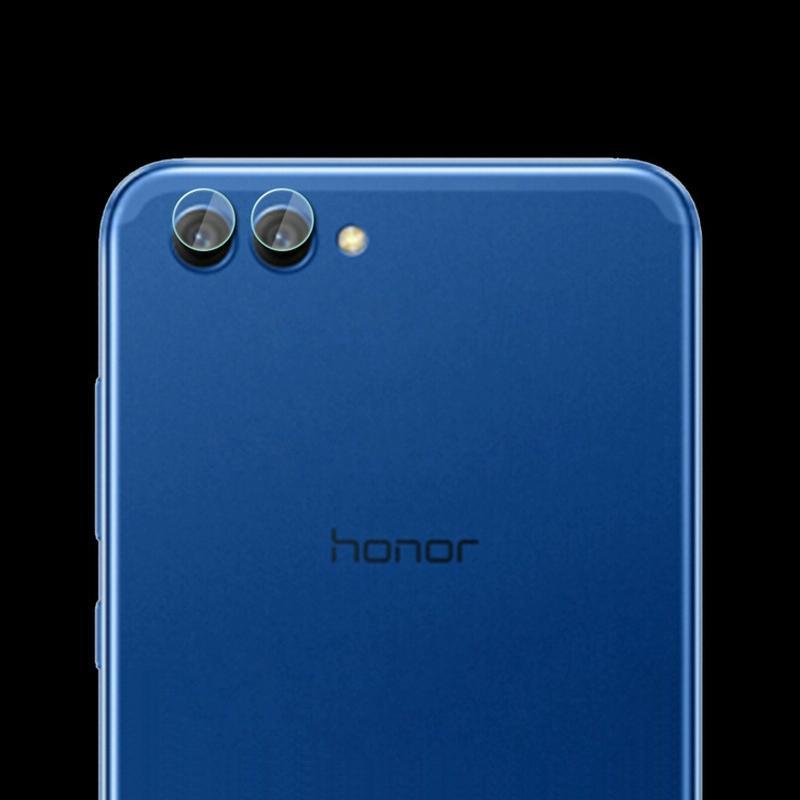 Afbeelding van 0.3mm 2.5D transparante achterkant Camera Lens Protector getemperd glas Film voor Huawei Honor V10