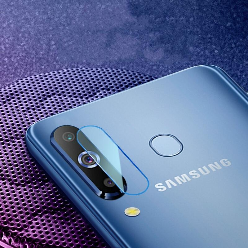 Afbeelding van 0.3mm 2.5D transparante achterkant Camera Lens Protector getemperd glas Film voor Galaxy A8s