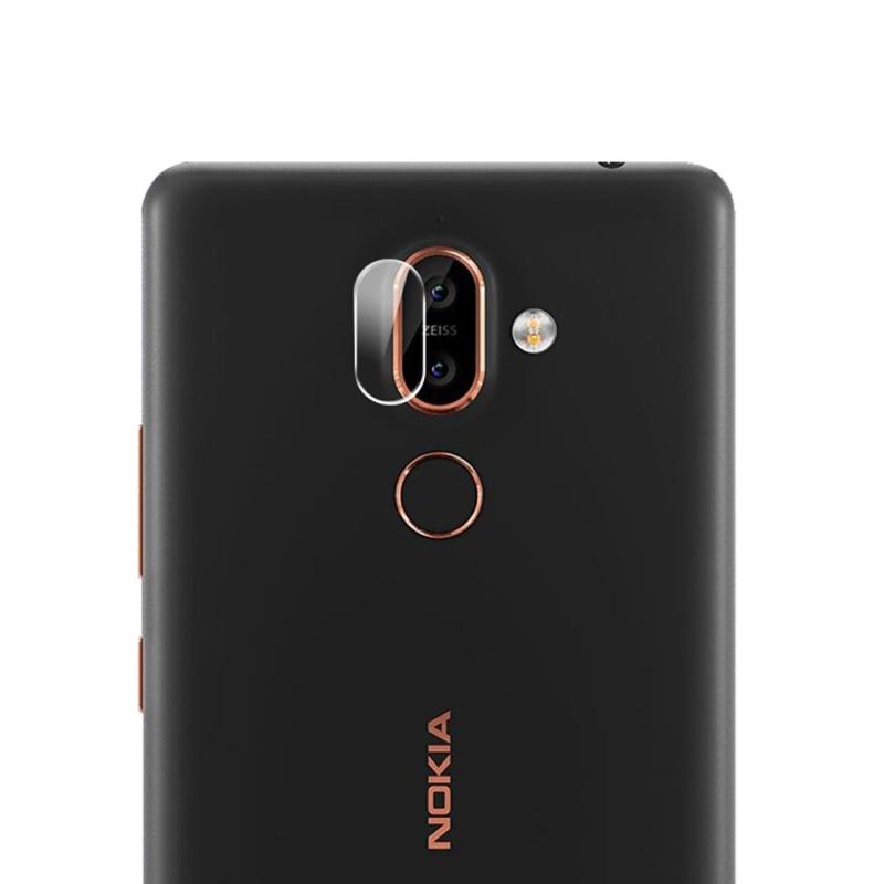 Afbeelding van 0.3mm 2.5D rond de Lens van de Camera van de achterkant van de rand getemperd glas Film voor Nokia 7 Plus