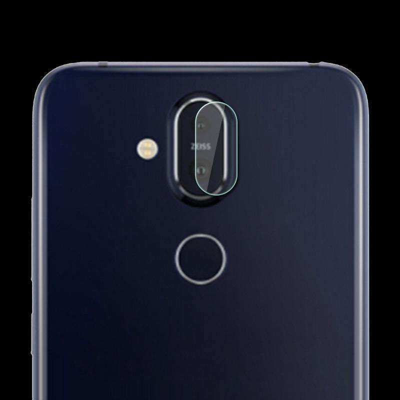 Afbeelding van 0.3mm 2.5D rond de Lens van de Camera van de achterkant van de rand getemperd glas Film voor Nokia X7