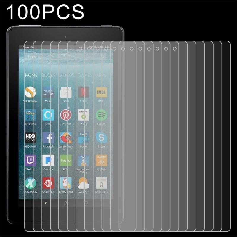 Afbeelding van 100 stuks 0.3mm 9 H volledig scherm getemperd glas Film voor Amazon Kindle Fire 7 2017