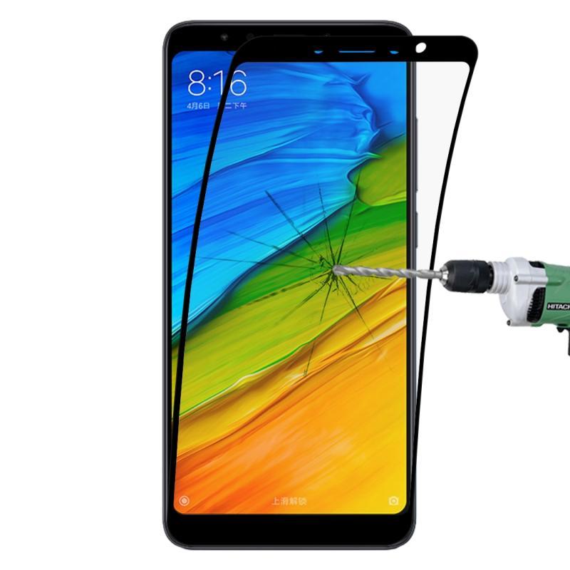 Afbeelding van 0.1mm 9H volledig scherm flexibele vezel getemperd glas Film voor Xiaomi Redmi 5 (zwart)
