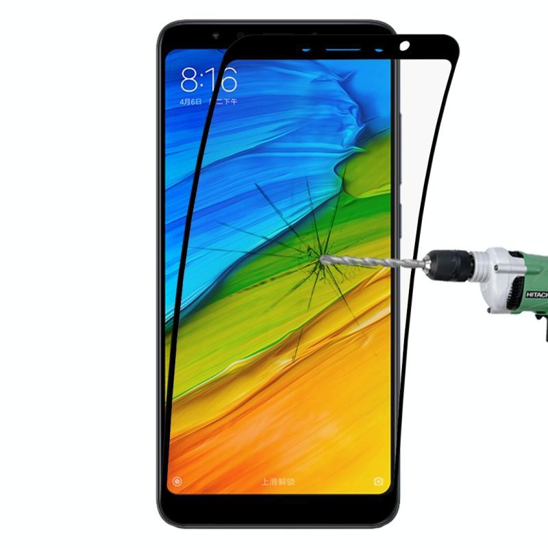 Afbeelding van 0.1mm 9H volledig scherm flexibele vezel getemperd glas Film voor Xiaomi Redmi 5 Plus (zwart)