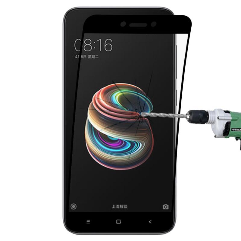 Afbeelding van 0.1mm 9H volledig scherm flexibele vezel getemperd glas Film voor Xiaomi Redmi 5A(Black)