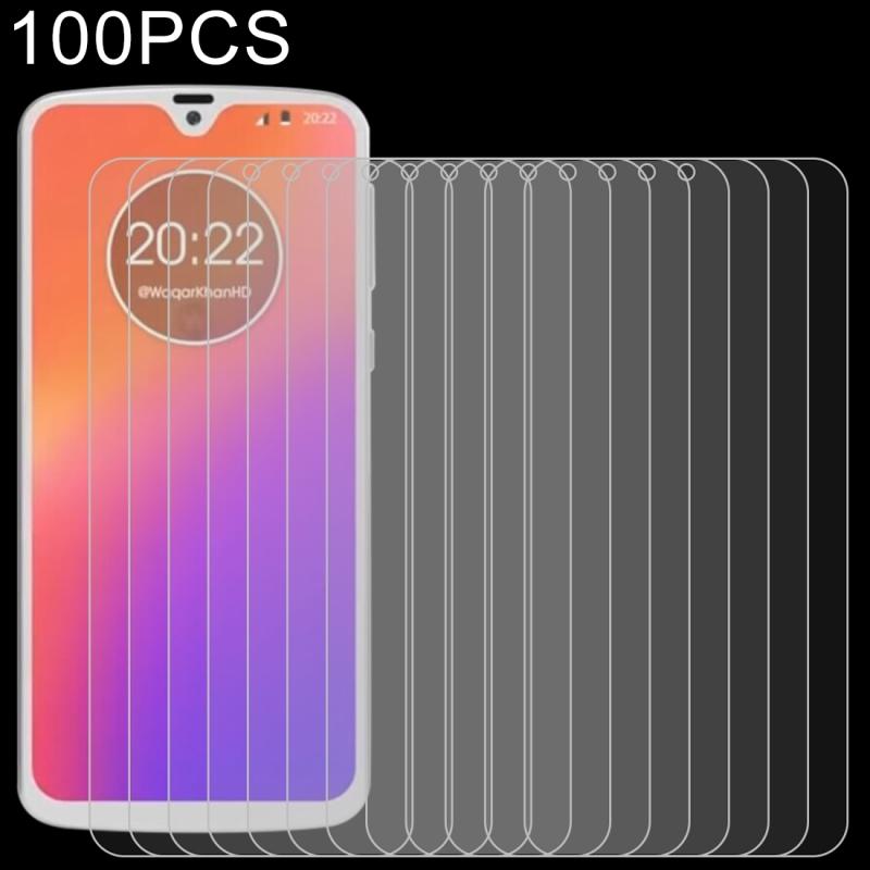 Afbeelding van 100 stuks 0 26 mm 9H 2.5D explosieveilige getemperd glas Film voor Motorola Moto G7 +