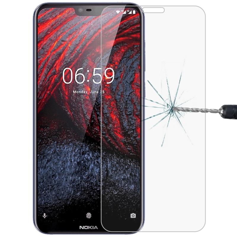 Afbeelding van 0 26 mm 9H 2.5D explosieveilige getemperd glas Film voor Nokia 6.1 Plus