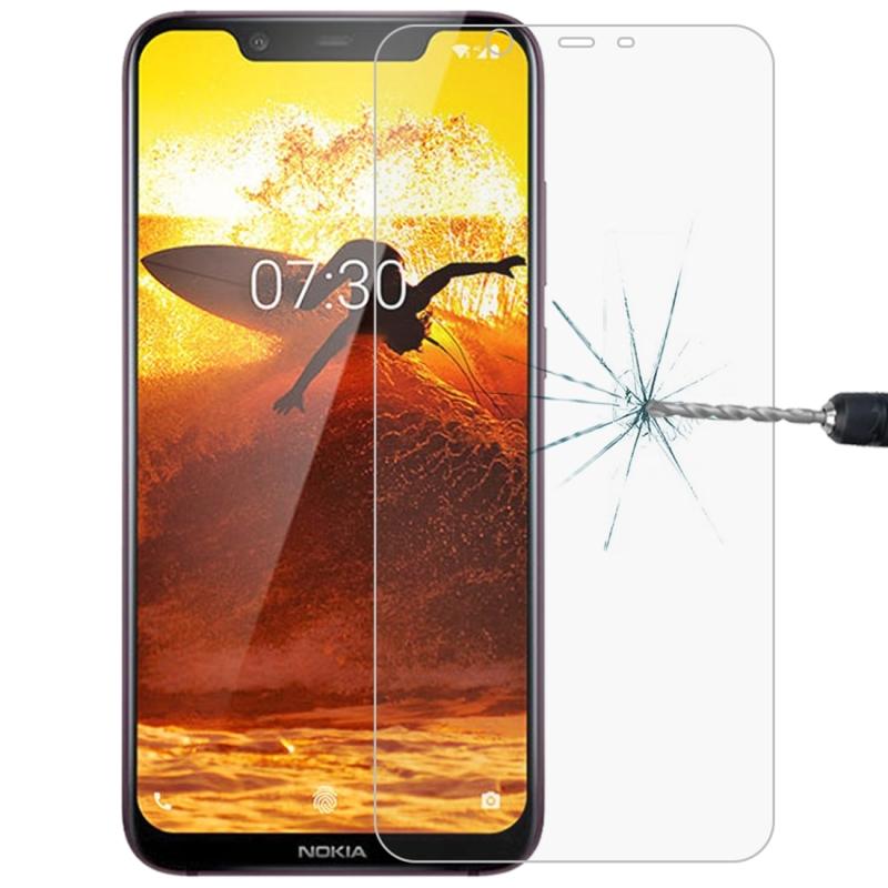Afbeelding van 0 26 mm 9H 2.5D explosieveilige getemperd glas Film voor Nokia 8.1
