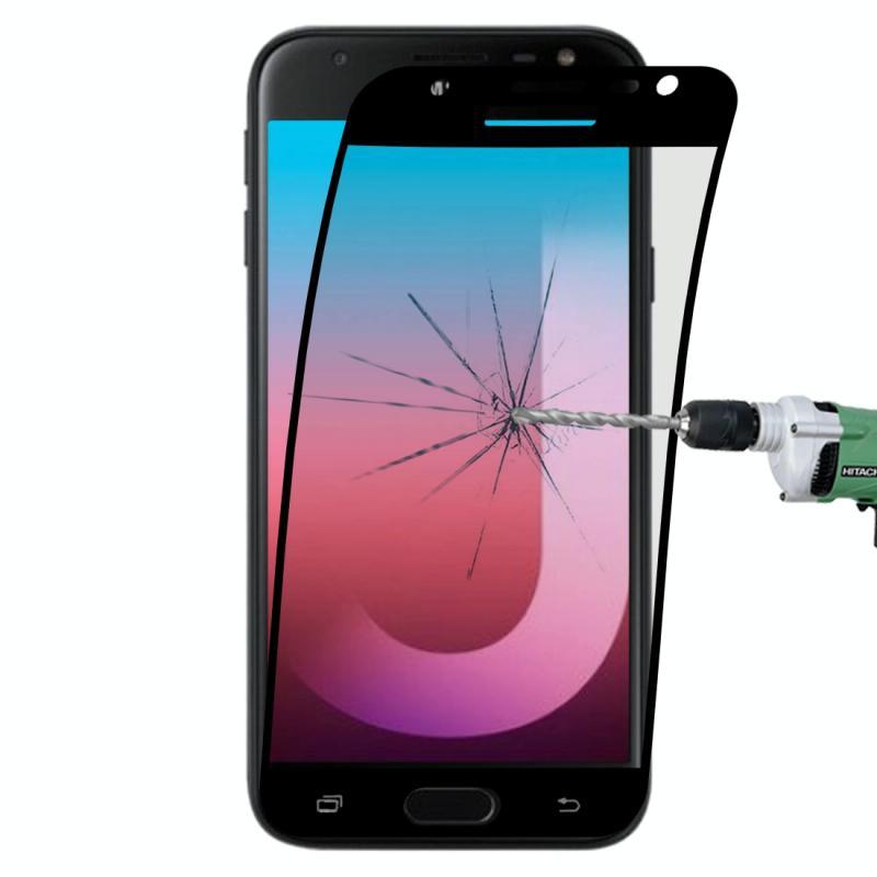 Afbeelding van 0.1mm 9H volledig scherm flexibele vezel getemperd glas Film voor Galaxy J3 Pro / J330 (zwart)