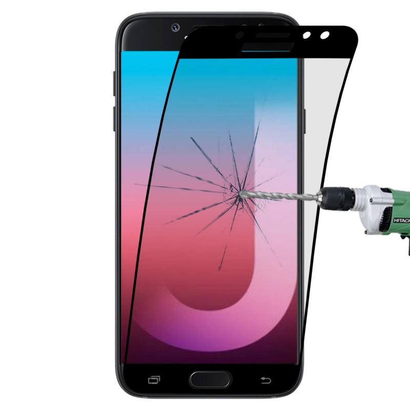 Afbeelding van 0.1mm 9H volledig scherm flexibele vezel getemperd glas Film voor Galaxy J5 Pro (zwart)