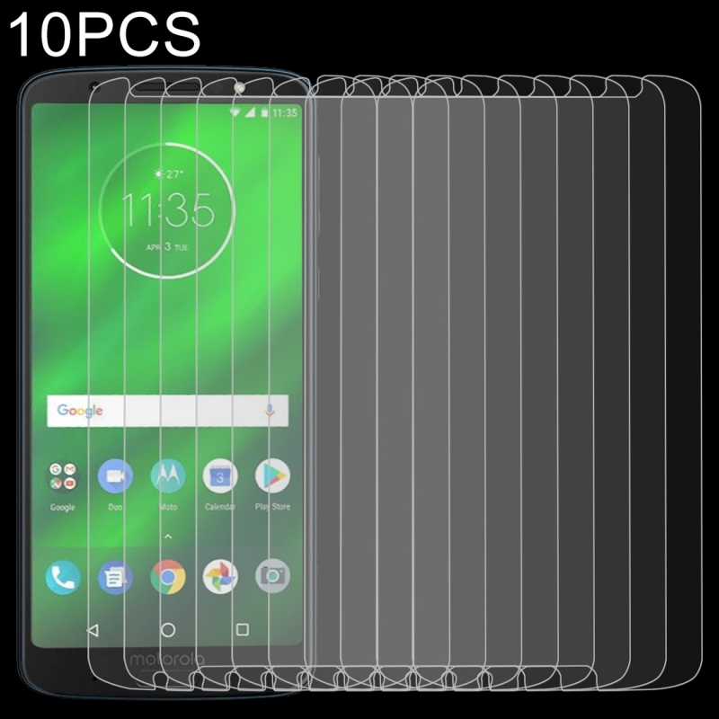 Afbeelding van 10 stuks 0 26 mm 9H 2.5D getemperd glas Film voor Motorola Moto G6 Plus