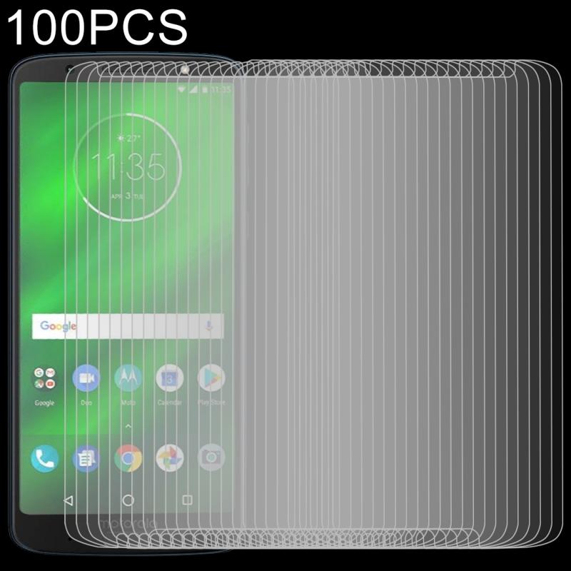 Afbeelding van 100 stuks 0 26 mm 9H 2.5D getemperd glas Film voor Motorola Moto G6 Plus