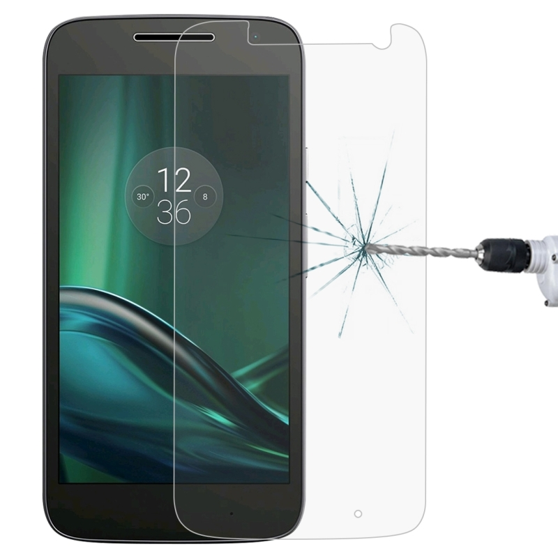 Afbeelding van 0 26 mm 9H 2.5D getemperd glas Film voor Motorola Moto G4 spelen