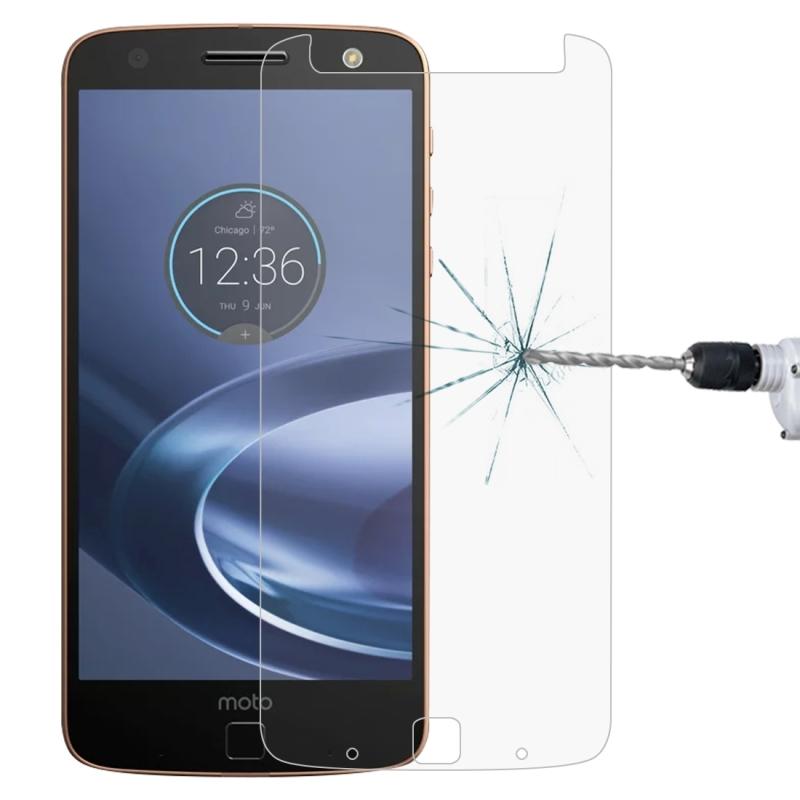 Afbeelding van 0 26 mm 9H 2.5D getemperd glas Film voor Motorola Moto Z-Force