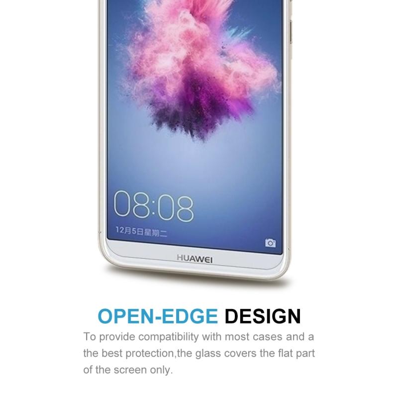 Afbeelding van 2 stuks voor Huawei P smart / genieten van 7S 0 26 mm 9H oppervlakte hardheid 2.5D gebogen gehard glas Screen Protector Film