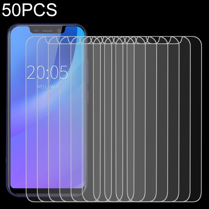 Afbeelding van 50 stuks voor Blackview A30 2.5 D niet-volledig scherm gehard glas film