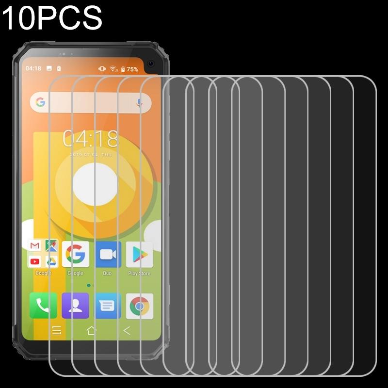 Afbeelding van 10 stuks 9H 2.5 D niet-volledig scherm gehard glas film voor Blackview BV6100
