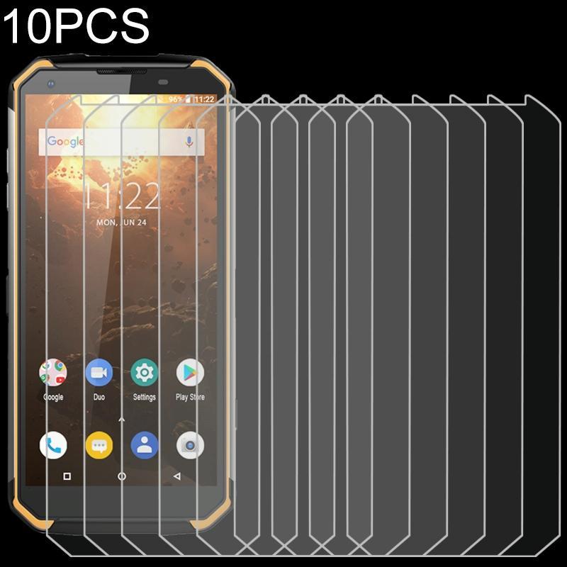 Afbeelding van 10 stuks 9H 2.5 D niet-volledig scherm gehard glas film voor Blackview BV9500 plus