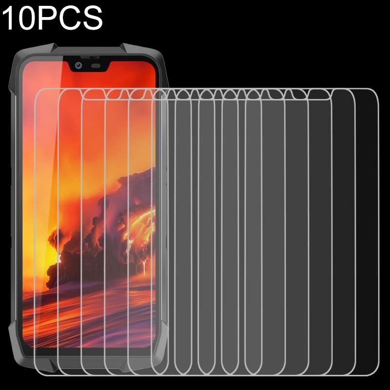 Afbeelding van 10 PCS 9H 2.5D Non-Full Screen Tempered Glass Film For Blackview BV9700 Pro