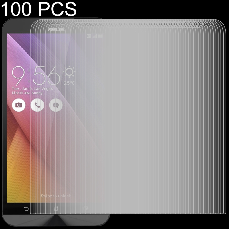 Afbeelding van 100 stuks 0 26 mm 9H 2.5D getemperd glas Film voor Asus Zenfone gaan ZB551KL
