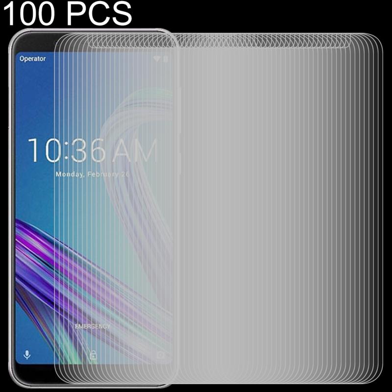 Afbeelding van 100 stuks 0 26 mm 9H 2.5D getemperd glas Film voor Asus ZenFone Max Pro (M1) ZB601KL