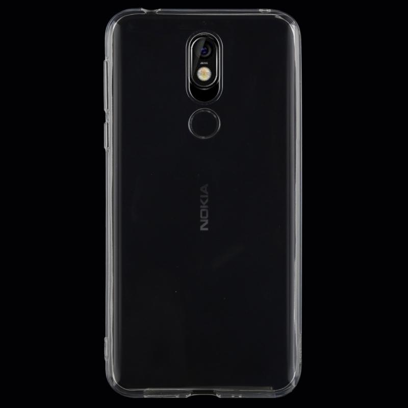 Afbeelding van 0 75 mm uiterst dunne transparante TPU beschermende softcase voor Nokia 7.1