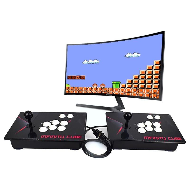 Afbeelding van Huishoudelijke boksen King Street Battle dubbele combinatie PSP game machine Rocker handvat concurrerende Game-apparatuur