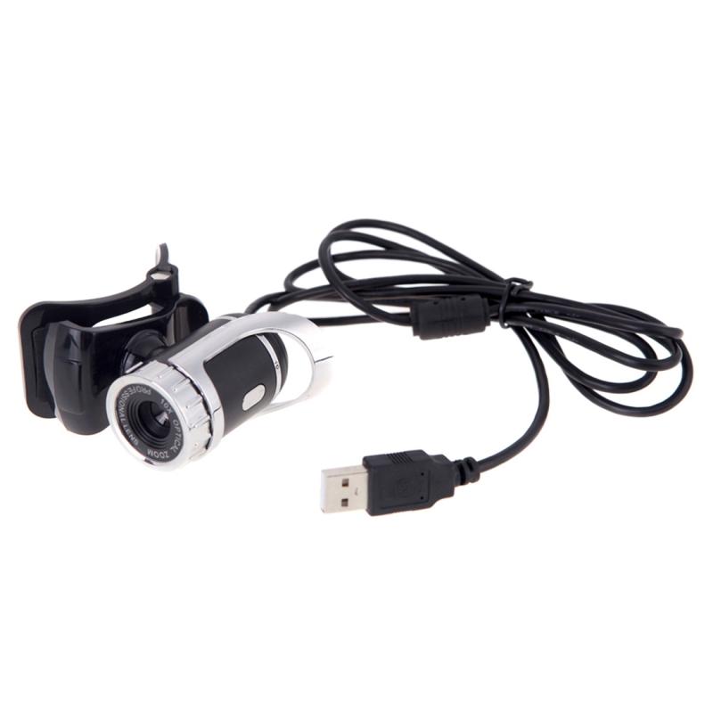 Afbeelding van A859 12.0 Megapixels HD 360 graden draaibaar USB 2.0 WebCam / PC Camera met microfoon voor Skype Computer PC Laptop kabel lengte: 1.4 meter