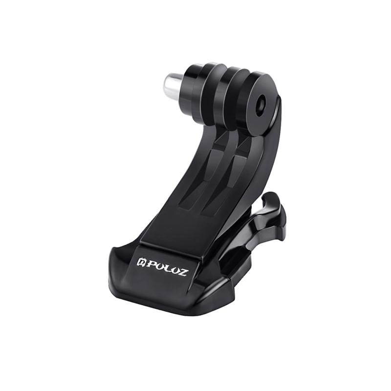 PULUZ zwart verticale oppervlak J-Hook Buckle Mount voor  GoPro HERO 7 / 6 / 5 / 5 session / 4 session / 4 / 3+/ 3 / 2 / 1    Xiaoyi nl andere actie Cameras(zwart)