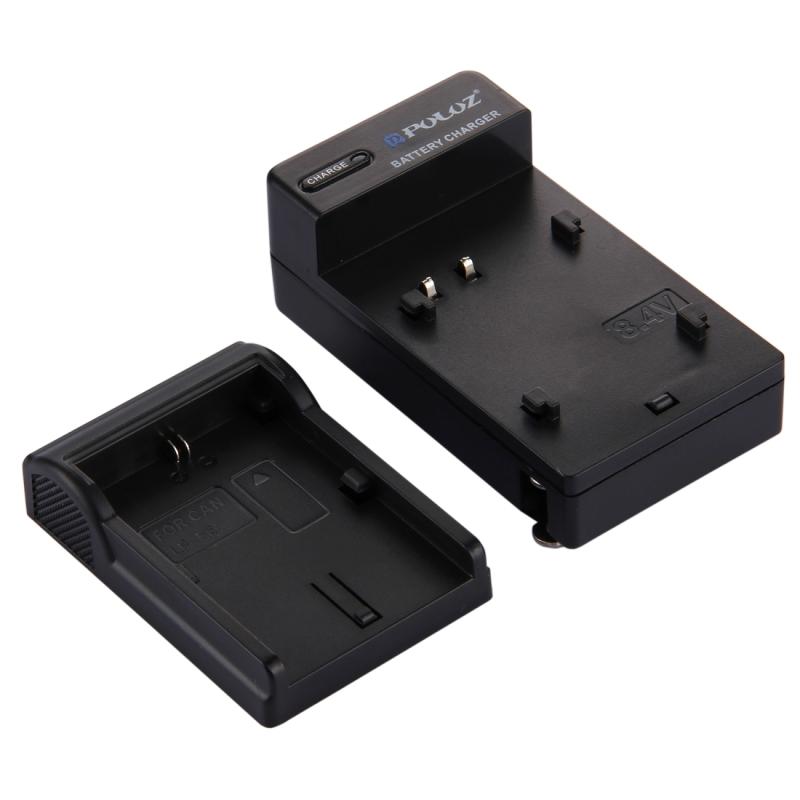 PULUZ VS Plug acculader voor Canon LP-E6 accu