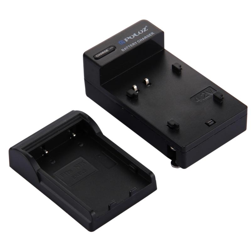 PULUZ VS Plug batterijoplader voor Nikon EN-EL5 accu