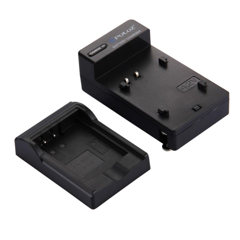 PULUZ VS Plug batterijoplader voor Nikon EN-EL12 accu