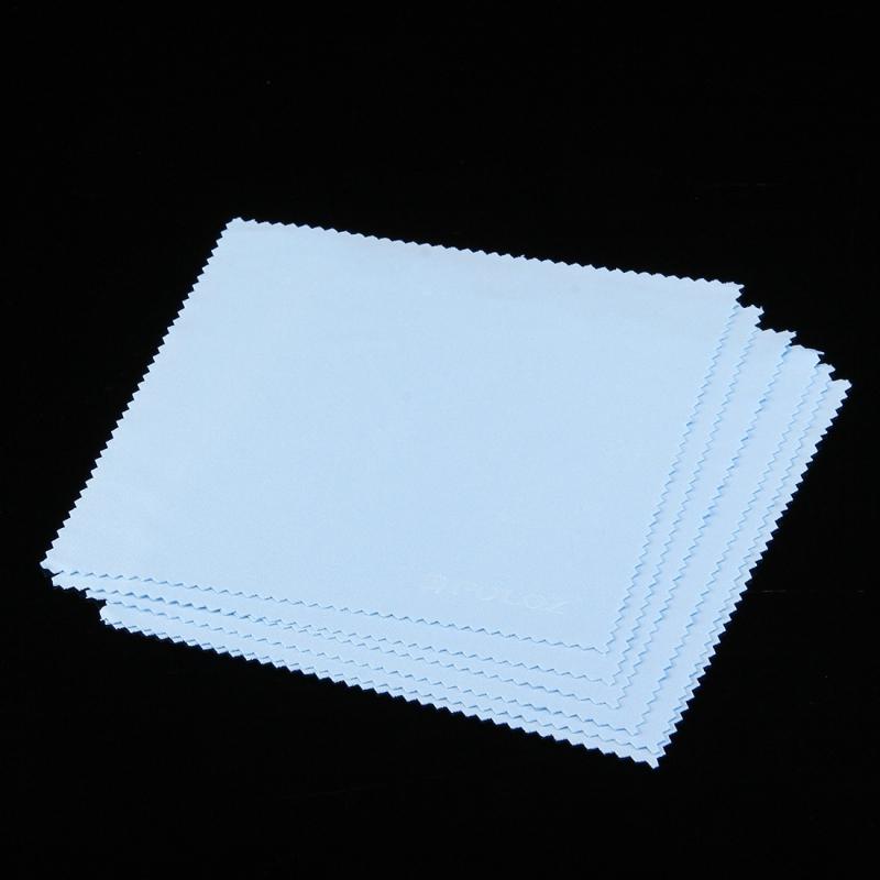 10 stuks PULUZ zachte reiniging kleding voor GoPro HERO 5 /4 sessie /4 /3+/3 /2 /1 LCD-scherm, Tablet PC / mobiele telefoon scherm, TV-scherm, bril, spiegel, Monitor, cameralens