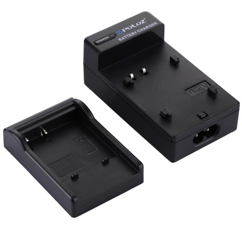 PULUZ EU Plug acculader met kabel voor CASIO CNP40 batterij