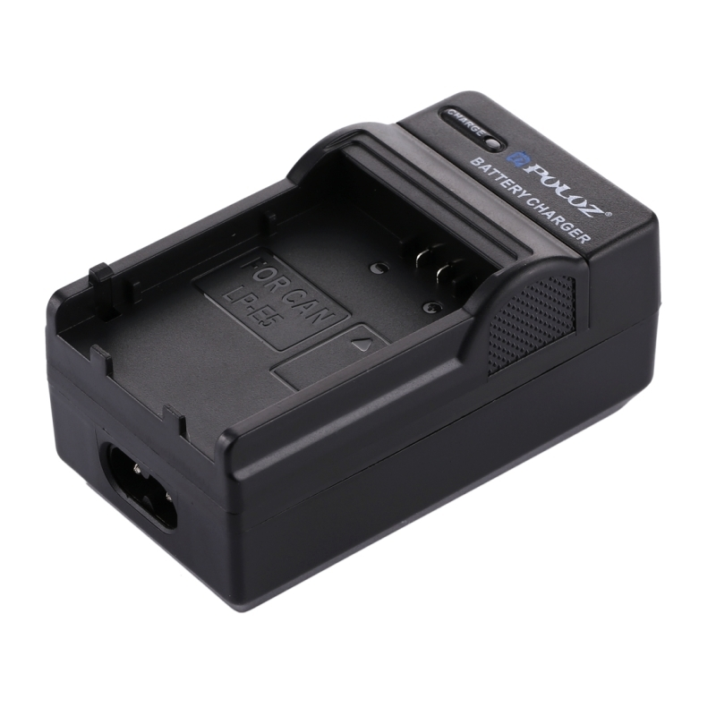 PULUZ 2-in-1 Digitale Camera batterij autolader voor de Canon LP-E5 Battery