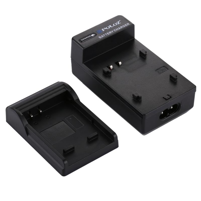 PULUZ 2-in-1 Digitale Camera batterij autolader voor Fujifilm NP-70 Panasonic DB-60 (S005) accu