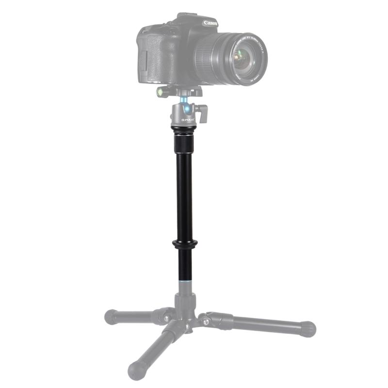 PULUZ metalen Handheld verstelbaar statief-Mount Monopod extensie staaf voor DSLR & SLR camera 's