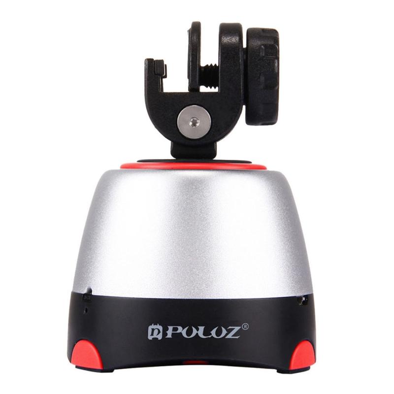 PULUZ elektronische 360 graden rotatie panoramisch statiefkop met afstandsbediening voor Smartphones GoPro DSLR Cameras(Red)
