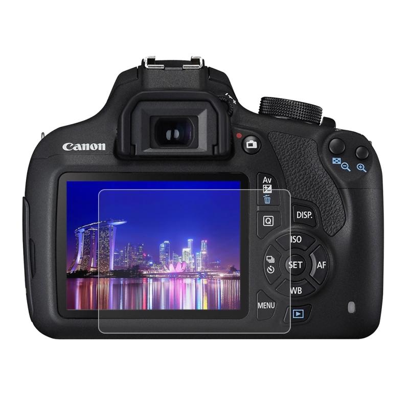 PULUZ 2.5D 9H Gehard glas Scherm bescherming Protector met gebogen rand voor Canon 1200D / 1300D Camera