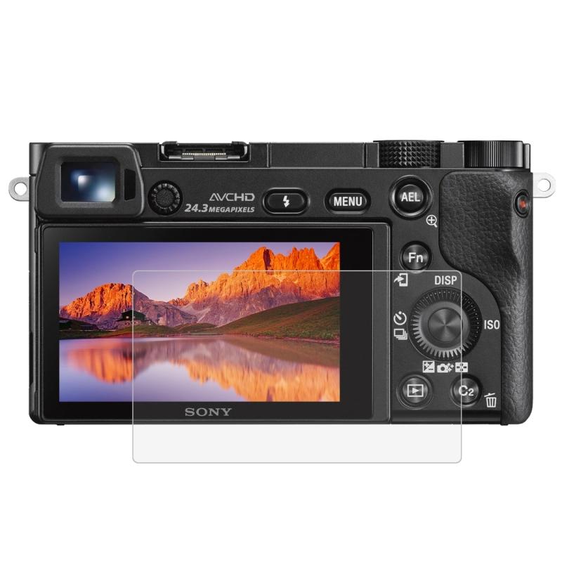 PULUZ voor Sony A6000 / A6300 / A6500 Camera 2.5D gebogen rand 9H oppervlaktehardheid gehard glas Screen Protector