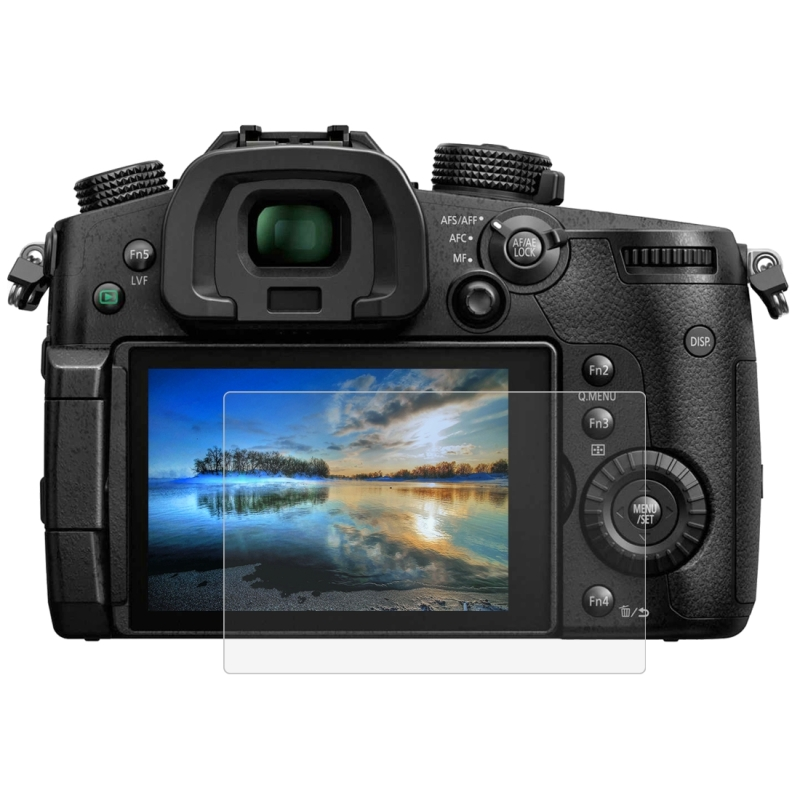 PULUZ voor Panasonic GH5 Camera 2.5D gebogen rand 9H oppervlaktehardheid gehard glas Screen Protector