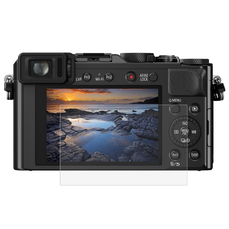 PULUZ voor Panasonic DMC-LX100 Camera 2.5D gebogen rand 9H oppervlaktehardheid gehard glas Screen Protector