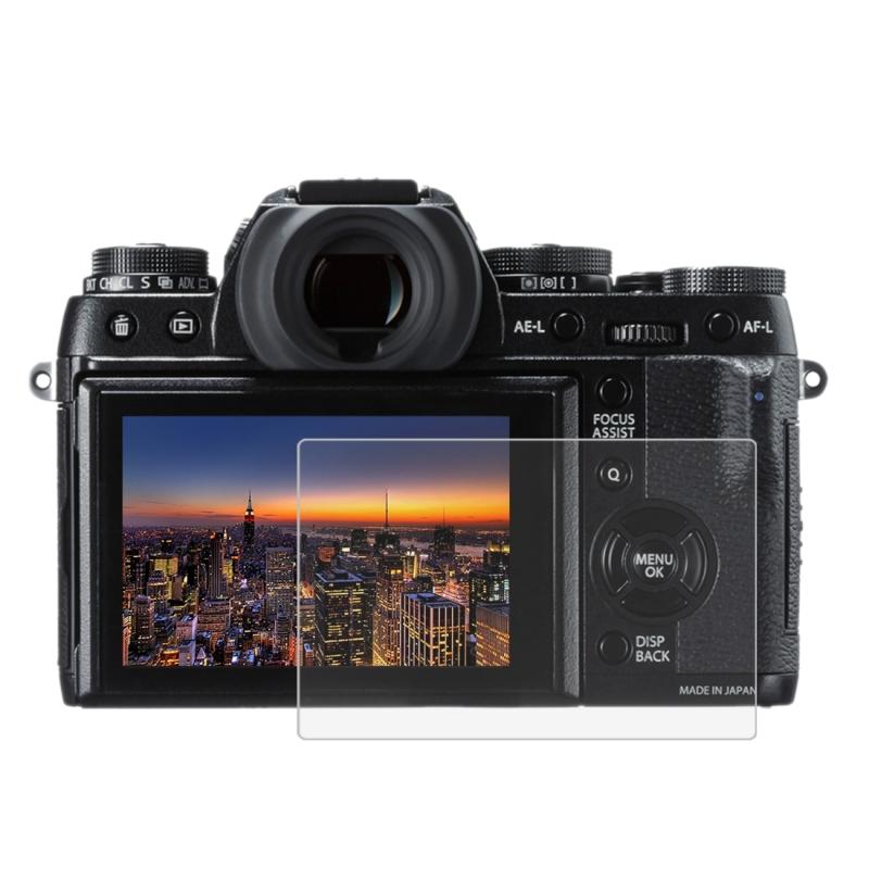 PULUZ voor Fujifilm X-T1/T2 Camera 2.5D gebogen rand 9H oppervlaktehardheid gehard glas Screen Protector