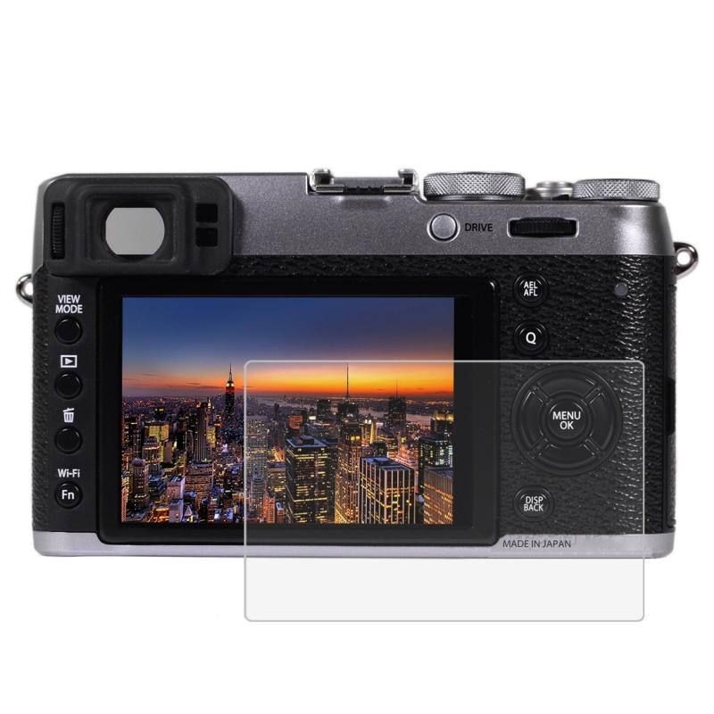 PULUZ voor Fujifilm X100T Camera 2.5D gebogen rand 9H oppervlaktehardheid gehard glas Screen Protector