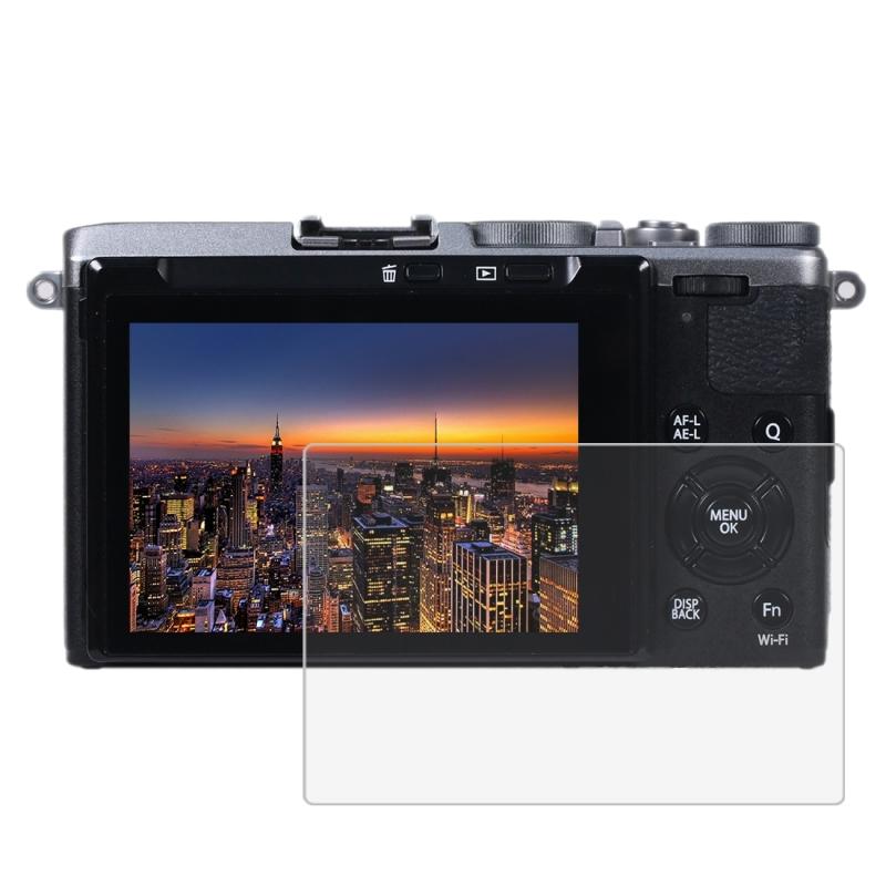 PULUZ voor X-70 van Fujifilm Camera 2.5 D gebogen rand 9 H oppervlaktehardheid gehard glas Screen Protector