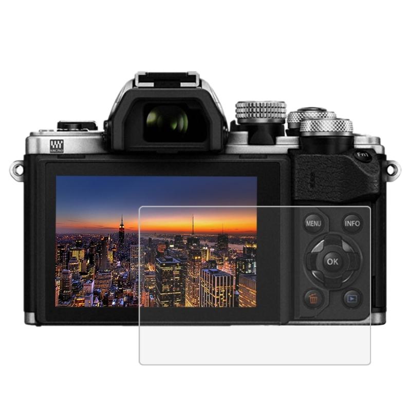 PULUZ voor Olympus EM10 / EM10-2 Camera 2.5D gebogen rand 9H oppervlaktehardheid gehard glas Screen Protector