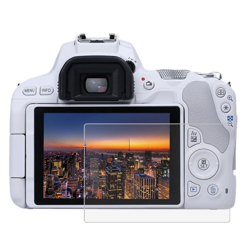PULUZ voor Canon EOS 200D / Nikon D7500 Camera 2.5D gebogen rand 9H oppervlaktehardheid gehard glas Screen Protector