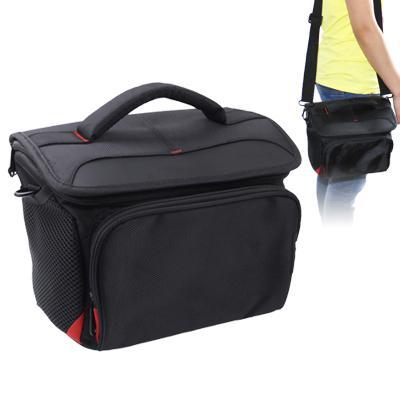 draagbare digitale camerariem tas met kleding, afmeeting: 25x20x20cm