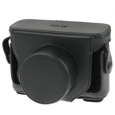 lederen camera hoesje tas voor sony x10